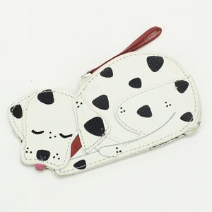 Rolfs Leather Dalmatian Wallet / Coin Purse